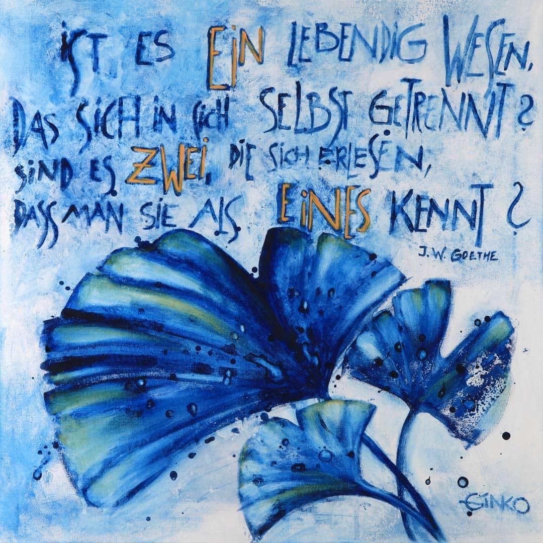 Ginkgo Gedicht Goethe
