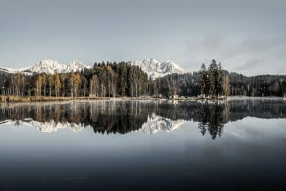 Schwarzsee mit Wilder Kaiser