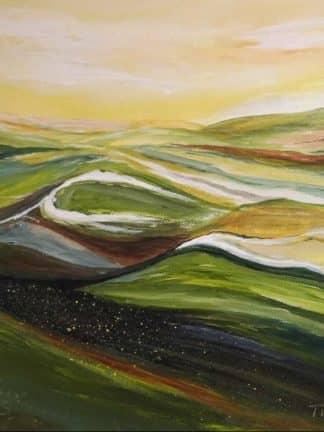 Landschaft 6 Heinz Tischer